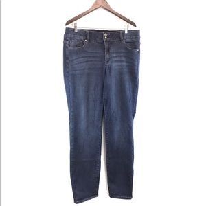 Lane Bryant Straight Leg Dark Wash Jeans
